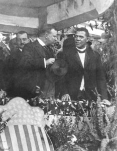 theodore-roosevelt-at-tuskegee-with-booker-t-washington-1905
