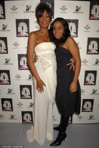 Whitney Houston overdoses in 2012, while her 22-year old daughter Bobbie dies just 3 years later of alcoholism